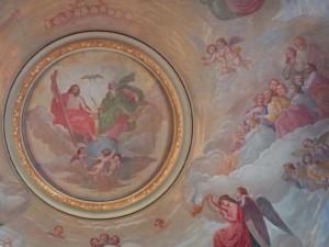 Pala sopra l'Altare Maggiore