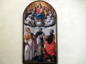 "Pala ""Madonna del Rosario con Bambino"""