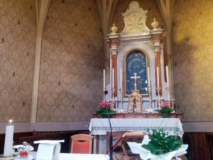 Dettaglio dell'Altare