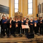 Il coro ai giorni nostri in un esibizione a Velden