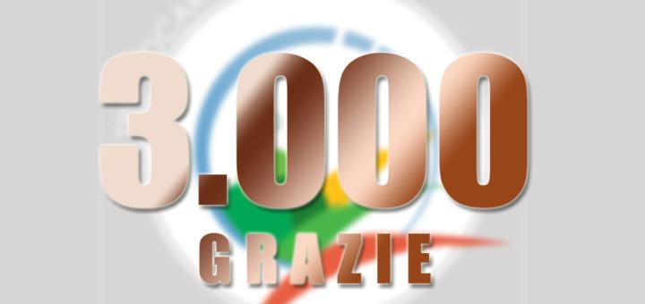 3000 Grazie