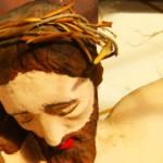 Dettaglio del Cristo in croce