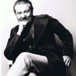 Enzo Plazzotta in posa