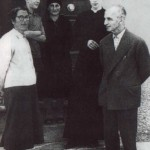 Caterina De Marchi insieme ai famigliari