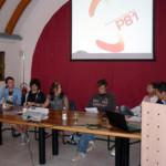 Il gruppo Prometeo81 pochi istanti prima della presentazione.