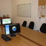 La sala informatica a lavori ultimati...