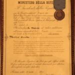 Riconoscimento con medaglia di Bronzo
