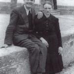 """Fine anni '30 - Elio Craighero """"dal Codet"""" e la moglie Elia Lazzara """"di Sat"""""""