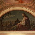 """Pala altare maggiore chiesa Sant'Agnese a Treppo Carnico """"Gesu nell'orto ulivi"""""""