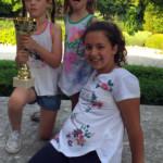 Layla Vieira: vincitrice della categoria ragazzi