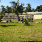 Uno dei dormitori realizzati in mozambico