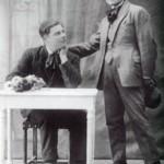 """Parigi 1932 - Vittorio Urbano insieme al compaesano Luigi Craighero """"Gjgj di Valdine"""""""