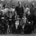 14 maggio 1933 - Foto di gruppo con figli e nipoti
