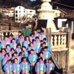 Foto di Gruppo con le famose divise invernali