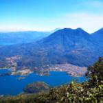 Panorama su Santiago e gli altri vulcani limitrofi