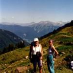 Angelo e Dina erano la coppia fissa di tutte le escursioni estive. Come non ricordarli in questa splendida foto?