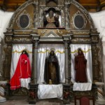 Altare della chiesa di Sacapulas
