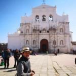 La bella Chiesa coloniale in centro al paese