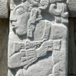 Uno degli innumerevoli Bassorilievi Maya a Palenque